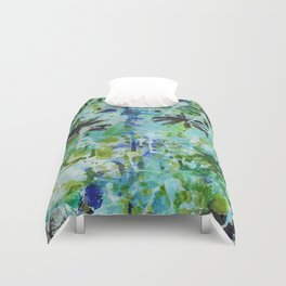 Peace and Serenity Abstract 1 Duvet Cover