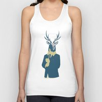 suits Tank Tops featuring Suits me by DisdainGlittersGold