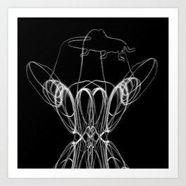 HOP_flow Art Print