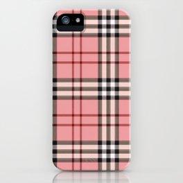 pinkgucii pattern iPhone Case