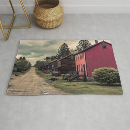 Eckley Miners Village Pennsylvania Historic Site Molly Maguires  Rug