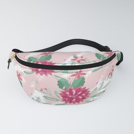 Abstract Floral 2 Fanny Pack