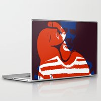 pablo picasso Laptop & iPad Skins featuring Picasso by Art Pop Store