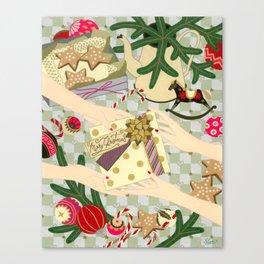 Merry Christmas gift Canvas Print