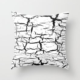 crackle Throw Pillow