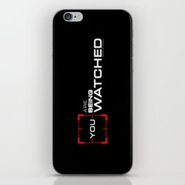 Person of Interest iPhone Skin