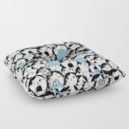 Bobbies Unite Floor Pillow