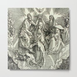 Durer – the assumption of Mary Metal Print