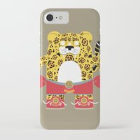 jaguar iPhone & iPod Cases featuring Jaguar by EinarOux