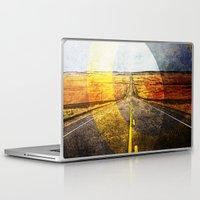 road Laptop & iPad Skins featuring Road by emegi
