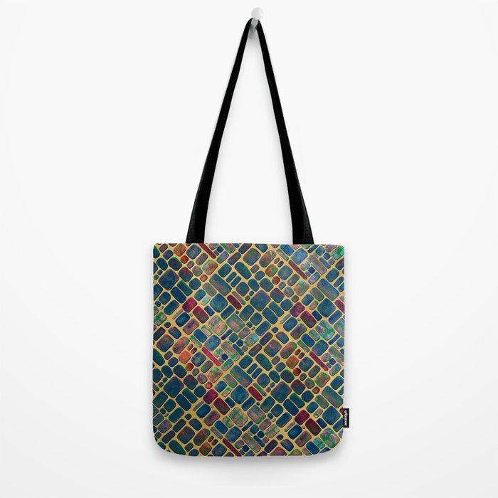 Abstract Tile Mosaic 2 Tote Bag