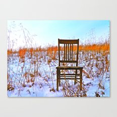 Winter Can Be Lonely Canvas Print