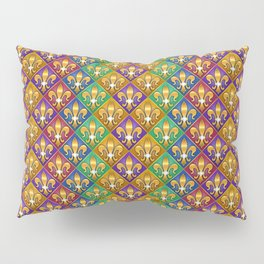 Harlequin Fleur di Lis Diamonds Pillow Sham