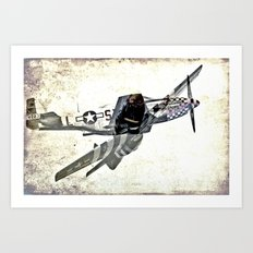 Mustang - The Original Art Print