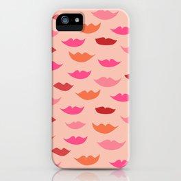 LIP SERVICE {peach} iPhone Case