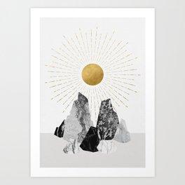 Rock Formation No.2 Art Print