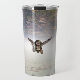parachutist Travel Mug