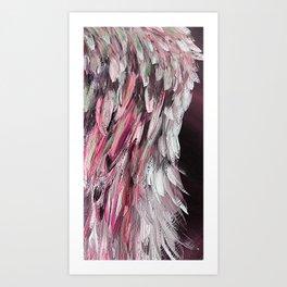 Angel Wing of Survivor Pink - Right Art Print