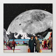 From Rock to Rock Canvas Print