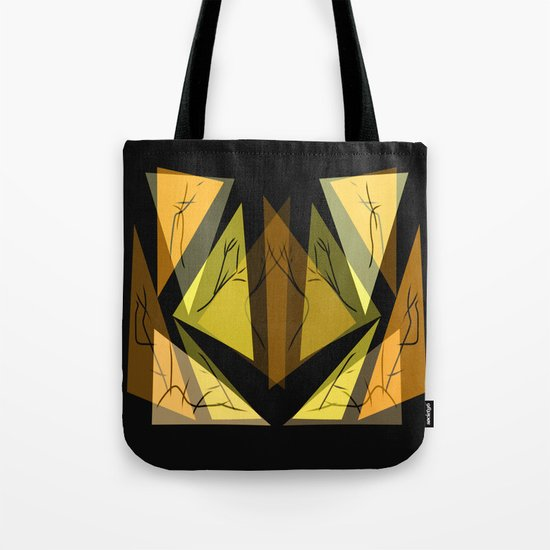 Triangles of the Earth  Tote Bag
