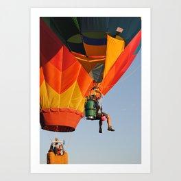 Up, Up. and Away! Art Print