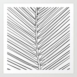 """Botanical Collection"" - Palm Tree Leaf Art Print"