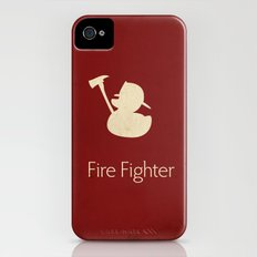 Fire Fighter Slim Case iPhone (4, 4s)