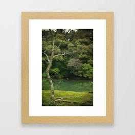 Kyoto Garden Japan Framed Art Print