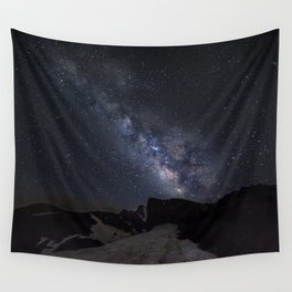 Milkyway at the mountains. Scorpius and Sagitarius Wall Tapestry