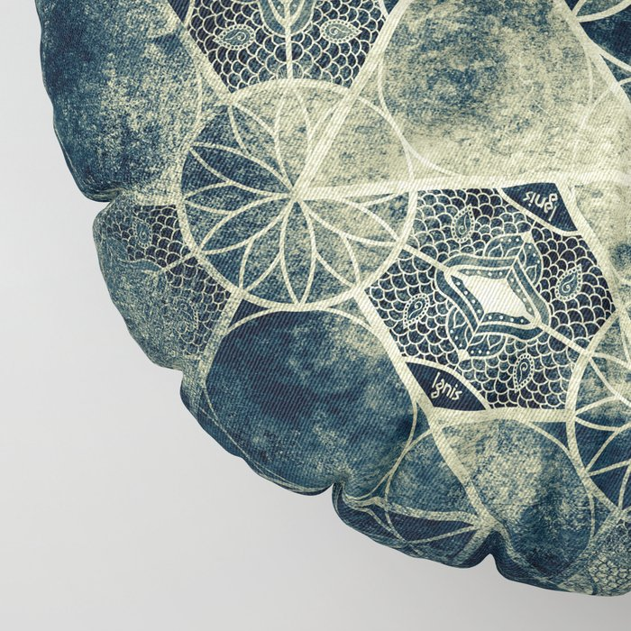 Sacred Geometry for your daily life -  Platonic Solids - IGNIS Floor Pillow