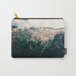 Mountain Texture Carry-All Pouch
