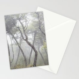 """""""Forest dance"""". Into the foggy woods... Stationery Cards"""