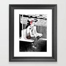 As The Lights Go By Framed Art Print