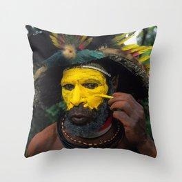 Papua New Guinea Adventure Throw Pillow