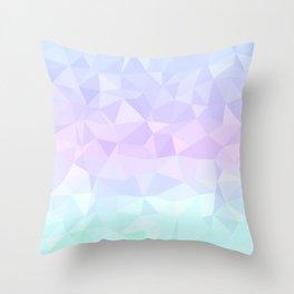Cool Pastels Throw Pillow