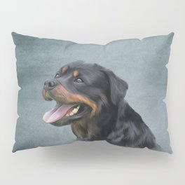 Rottweiler dog Pillow Sham