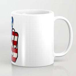 USA Vintage Peace Coffee Mug