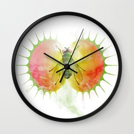 VENUS FLYTRAP (welcome to the afterlife) Wall Clock