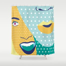 Web Party 1.3 Shower Curtain