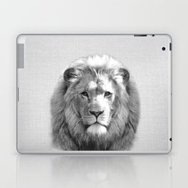Lion - Black & White Laptop & iPad Skin