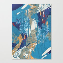 Flowers 01 Canvas Print