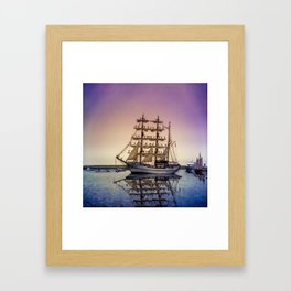 Sail Boston -Guayas Framed Art Print