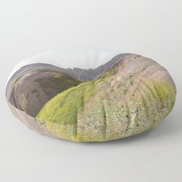 Badlands Valley Floor Pillow