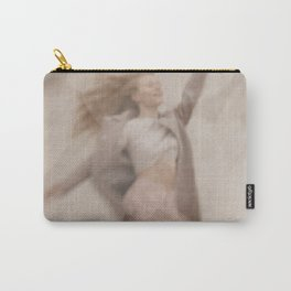 Jumping woman Carry-All Pouch