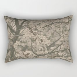 Pastel Flowers Rectangular Pillow