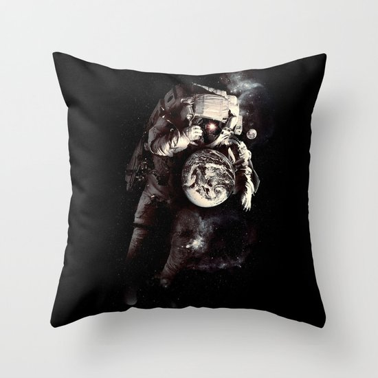 It's A Small World After All Throw Pillow