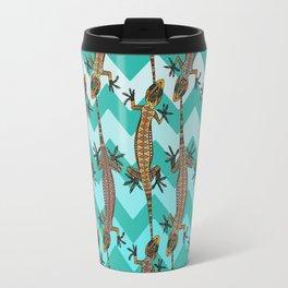gecko chevron Travel Mug