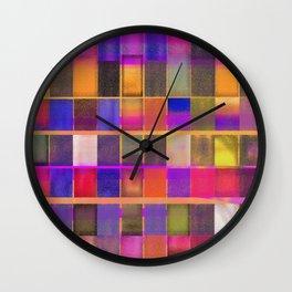 Downe Burns - Tripping On Life I Wall Clock