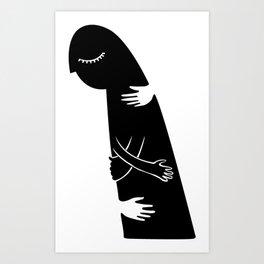 neg space Art Print