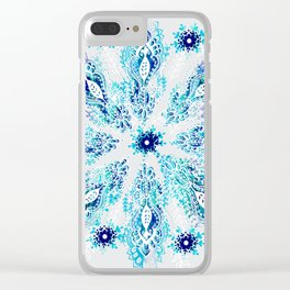 Inspire Me Mandala Clear iPhone Case